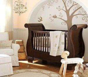 Chambre Bebe Magnifique Lit Et Dessin Murale Avec Images