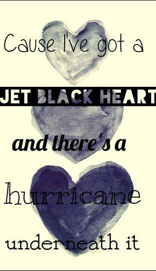 Jet black heart- 5 seconds of Summer →Wallpaper
