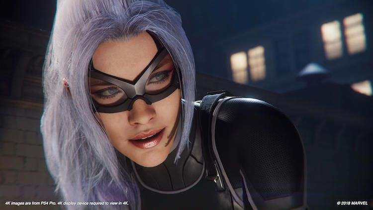 Marvel S Spider Man On Ps4 Get To Know Felicia Hardy Aka Black Cat Black Cat Marvel Spiderman Black Cat Spiderman Ps4