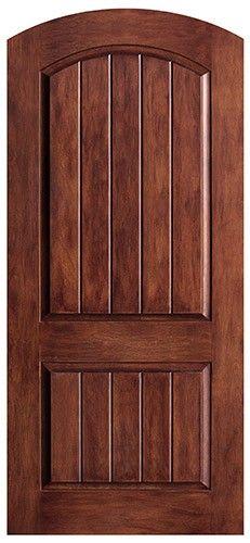 Delicieux Rustic Fiberglass Arched Door Slab