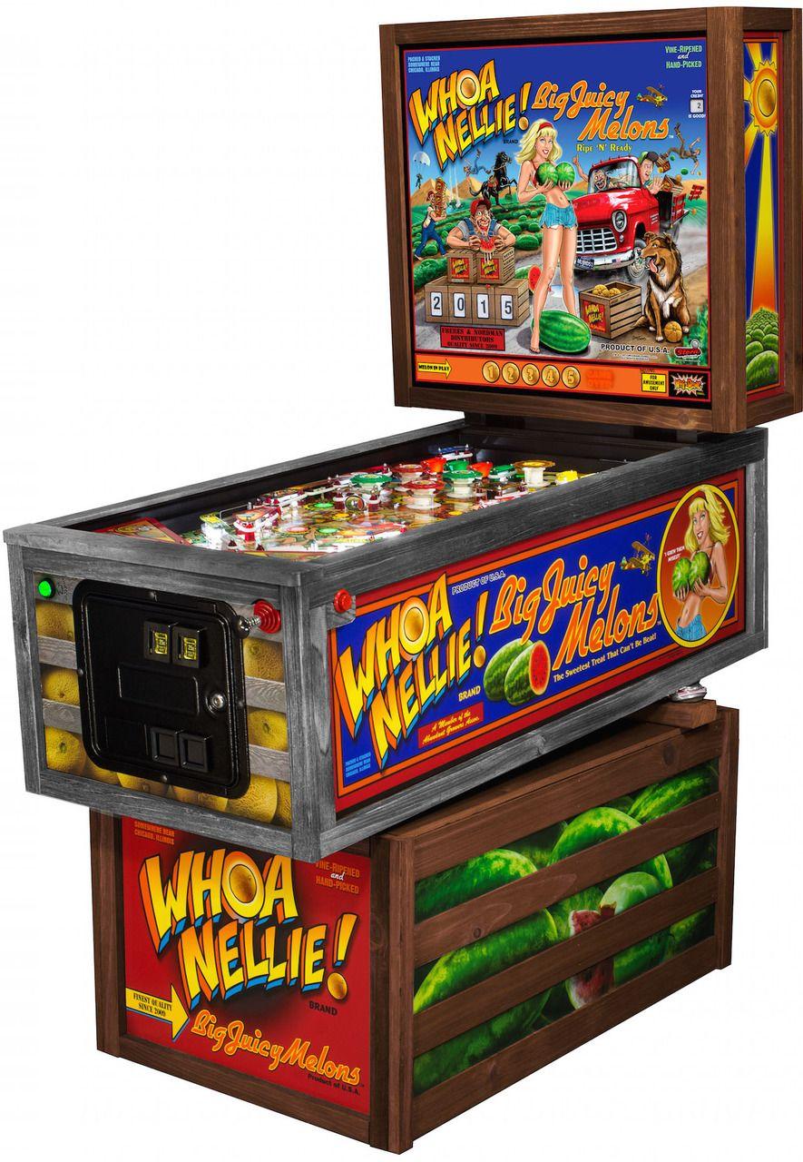 New Whoa Nellie Pinball Machine by Stern Pinball