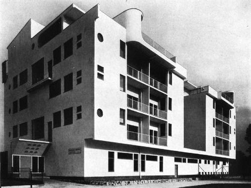 Polish Modernist Siedlung Wuwa Exhibition House 7