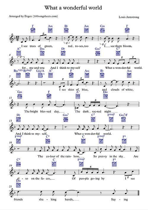 what a wonderful world скачать песню
