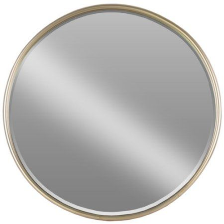 Urban Trends Metal Round Wall Mirror