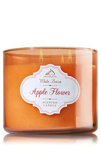 Bath & Body Works 3 Wick Candle 14.5 Oz White Barn Apple Flower Bath & Body Works http://www.amazon.com/dp/B00TNSWCPG/ref=cm_sw_r_pi_dp_2i5cwb18S0RMR