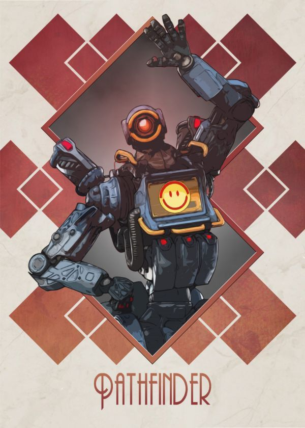 Apex Legends Art Deco Displate Posters