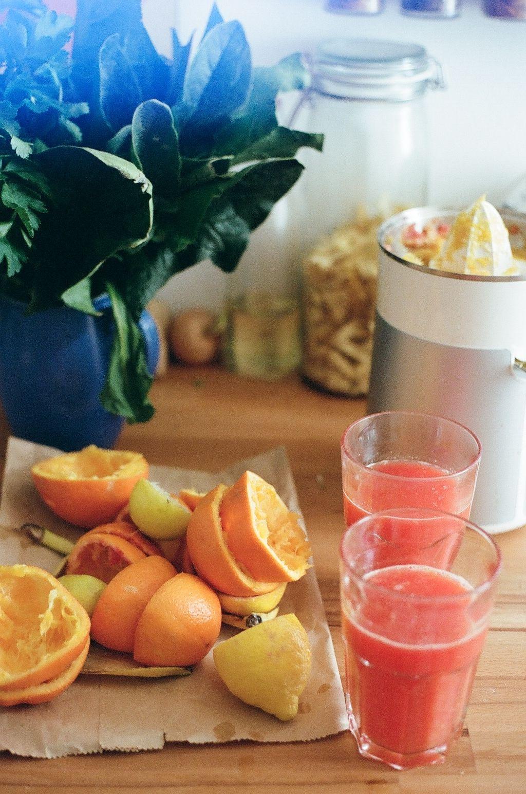 fruitjuice selfmade analog