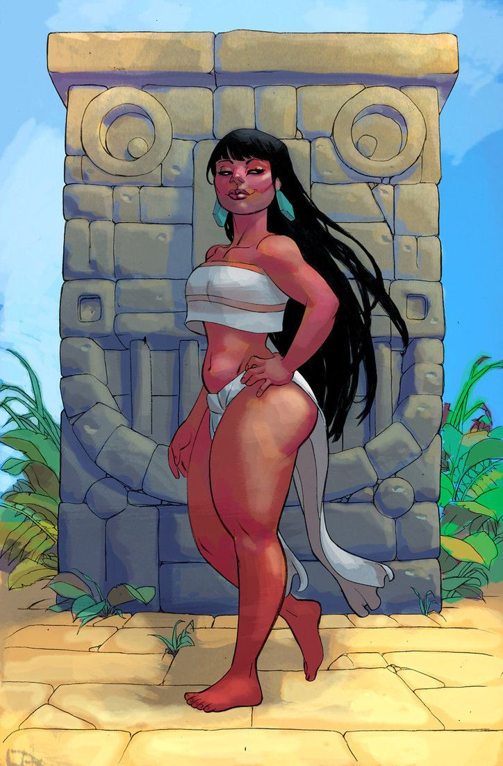 Chel From Road To El Dorado By Misterhardtimes Bd Cool Illustration Cartoon Gifs