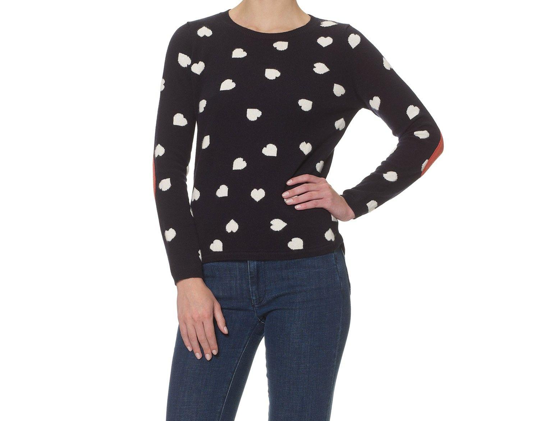 Chinti & Parker little intarsia heart sweater | goop.com
