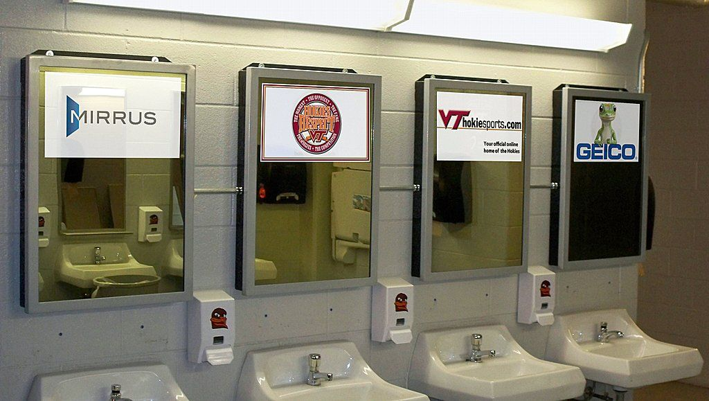 Public Bathroom Mirror the 10 best public bathrooms in america | a well, wells and tech