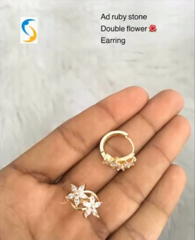 Beautiful Light Weight Daily Wear Gold Earrings Designs Simple Craft Ideas In 2020 Gold Earrings Designs Designer Earrings Valuable Jewelry