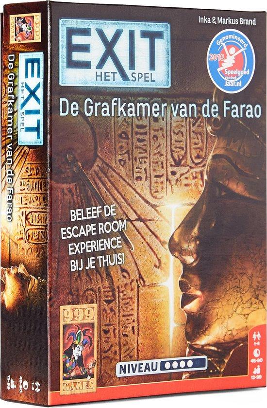 Exit De Grafkamer Van De Farao Escape Room Bordspel Games Escape Room Kaartspellen Breinbrekers