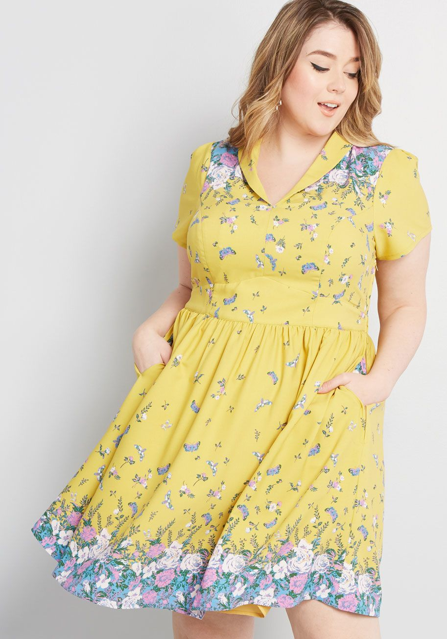 Lively Identity Short Sleeve Dress | Plus size summer ...