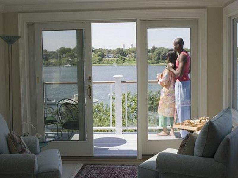 Charming Anderson Sliding Glass Doors Wood Frame Furniture