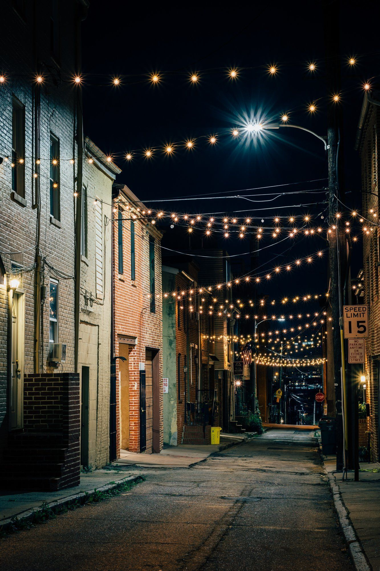 Chapel Street Strings Light Decorations Outdoor
