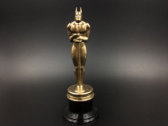 this unique batman oscar figurine is a real collectible the