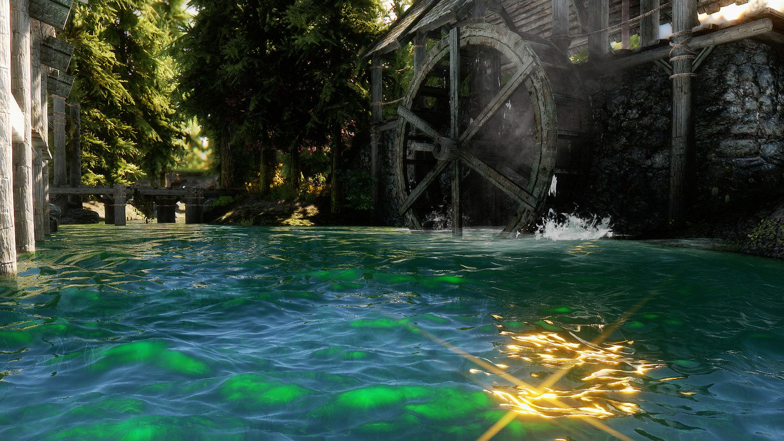 Watercolor for ENB and Realistic Water Two at Skyrim Nexus - mods