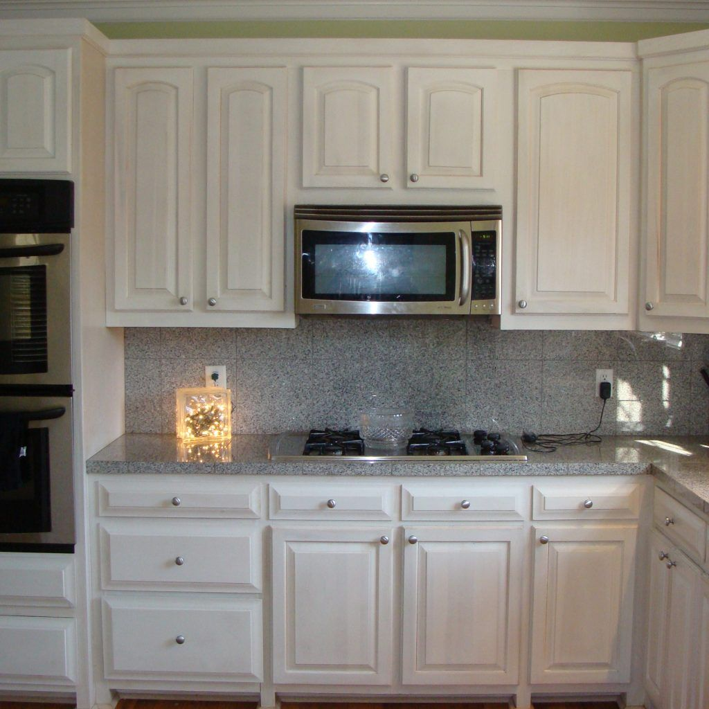 22 Gel Stain Kitchen Cabinets As Great Idea For Anybody: Whitewashed Kitchen Cabinet Doors