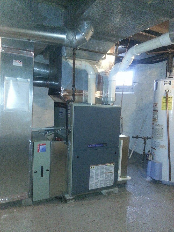 American Standard modulating furnace installed by