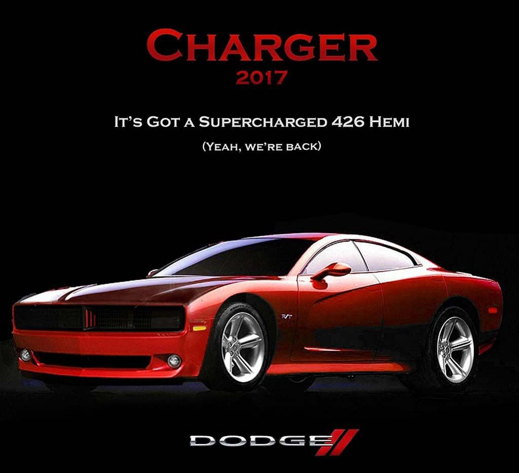 The new 2017 dodge charger concept has been released coming with more style better equipment and more versatility with the latter being enhanced in this