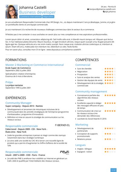 Jean Lou Perrier Cv Reconversion Professionnelle Cv Graphique Reconversion Professionnelle Infographiste