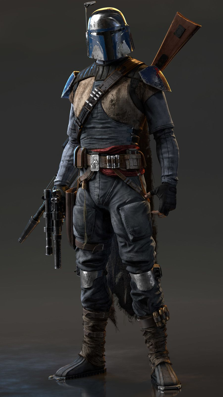 boba 39 s inherited mandalorian gear from his late father. Black Bedroom Furniture Sets. Home Design Ideas