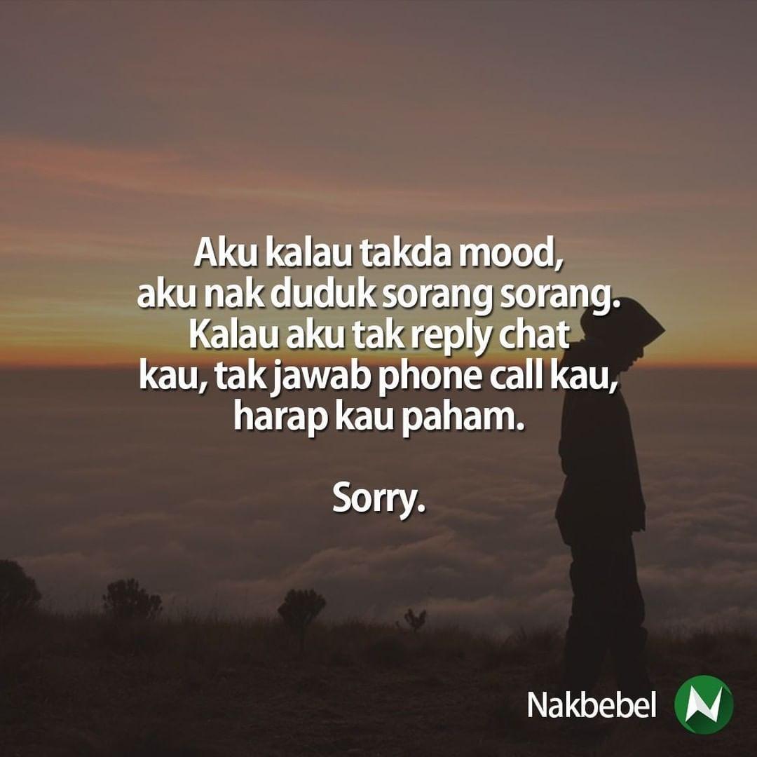 Sorry Follow Santapanhidup Untuk Quote Quote Kehidupan