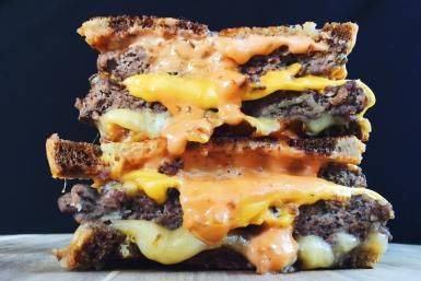 THE ULTIMATE PATTY MELT! Steak 'n Shake's Frisco Melt Copycat Sandwich Recipe