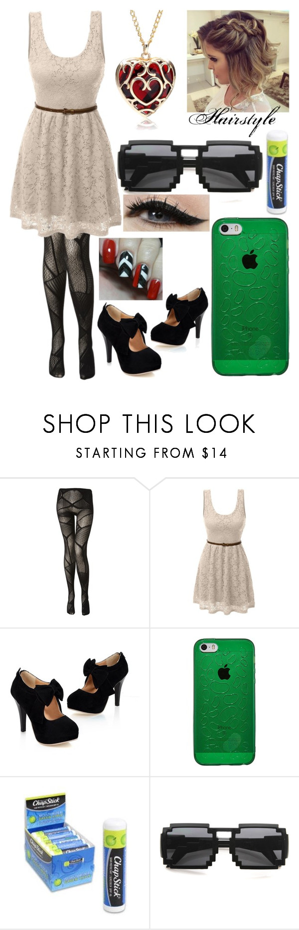 """""""Mia's outfit for chapter 1"""" by bloodmoonorsilentdeath on Polyvore featuring LE3NO, Chapstick, Nintendo and Anatomy Of"""