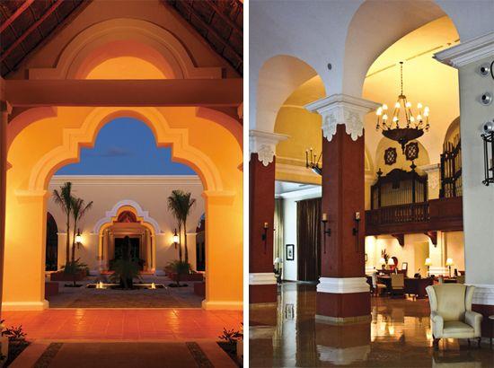 hacienda wedding venue details at the Valentin Imperial ...