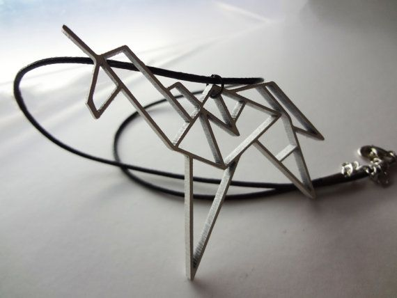 Blade Runner Origami Unicorn Pin: Replicant- Blade Runner, Origami Unicorn Necklace On Etsy