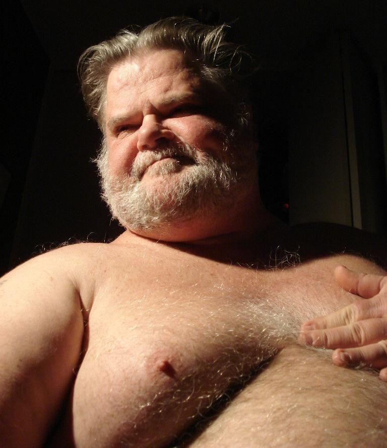 Gay chubby senior men