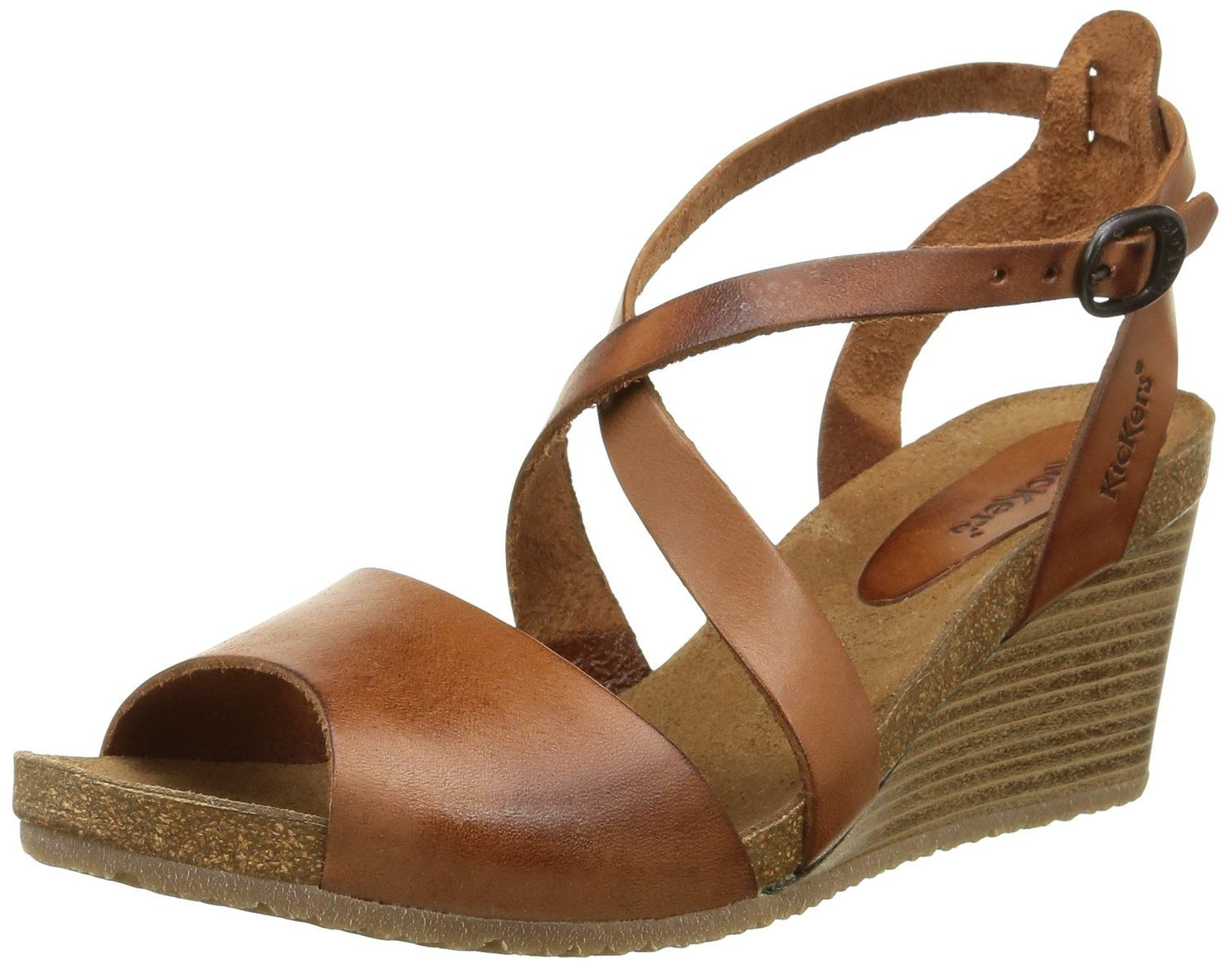 Spagnol, Womens Ankle Strap Sandals Kickers