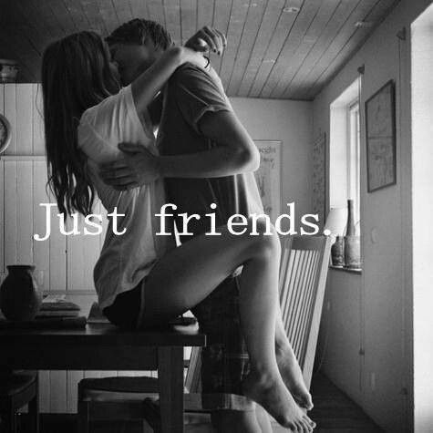 Just friends? :* ;)