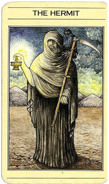 Mythic Tarot. By Liz Greene and Juliet Sharman-Burke. The Hermit ...