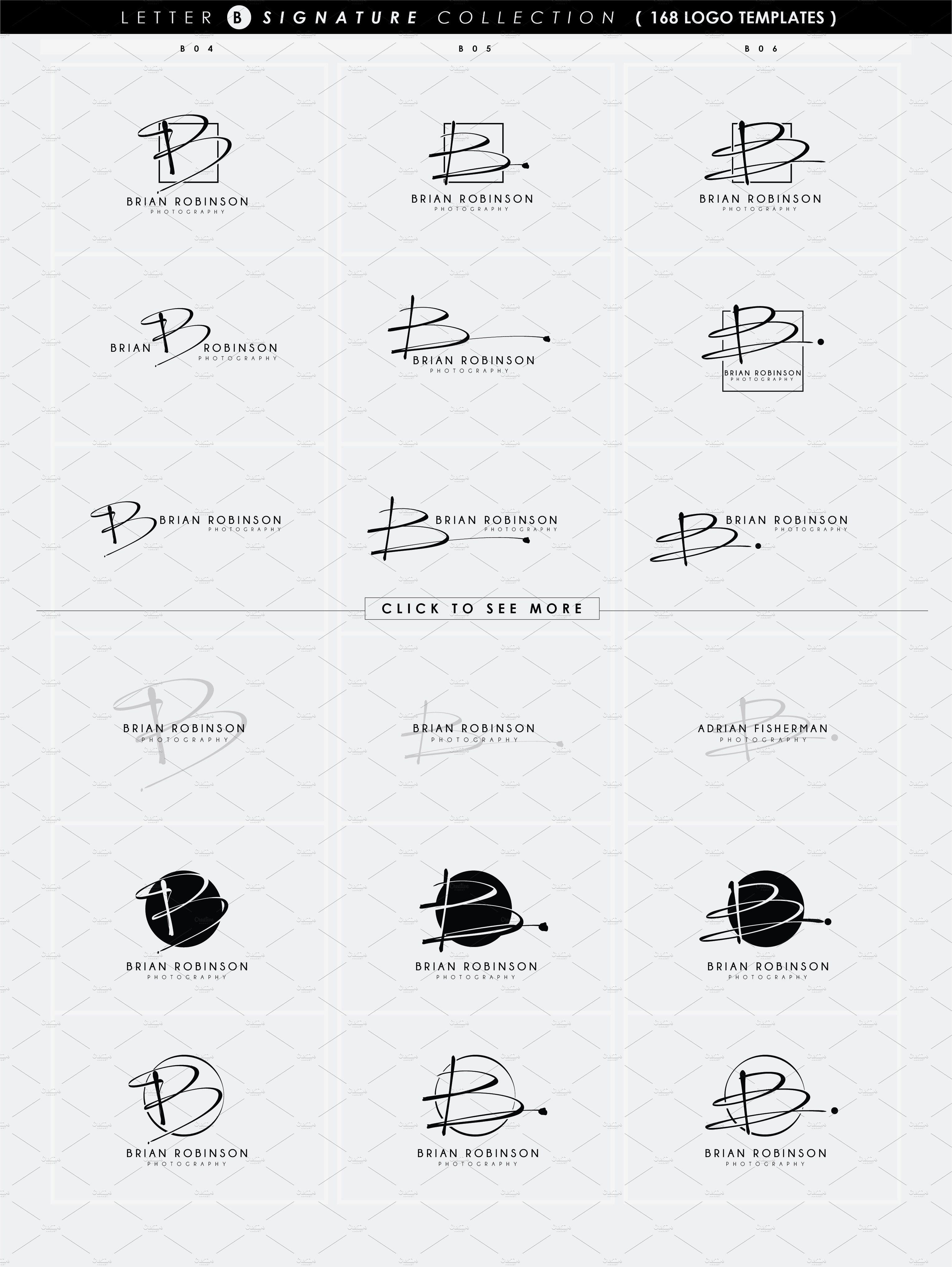 Idée De Signature 168 LETTER B SIGNATURE monogram logo in 2020   Monogram logo
