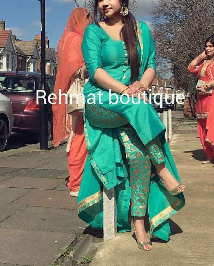 f7d56b5113 pintrest@Dixna deol   Suits in 2019   Designer punjabi suits, Indian ...