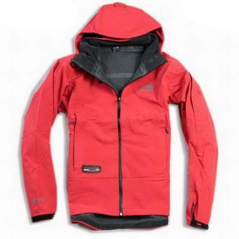 Discount North Face Mens Recco Fleece Red