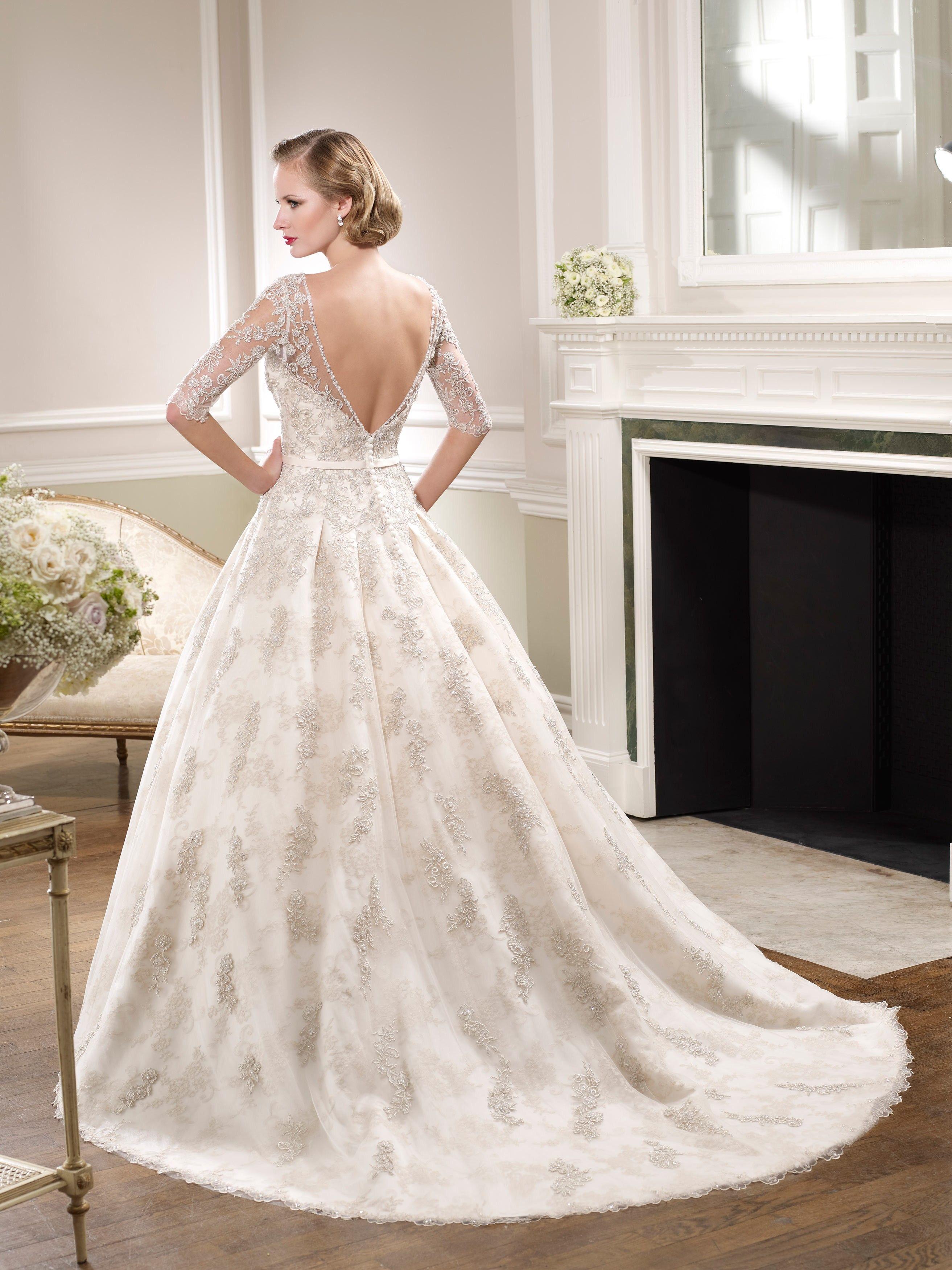 fef6fee0cb87 Elegantné a vznešené svadobné šaty JOYCE nájdete v salóne Diamond v Žiline   )