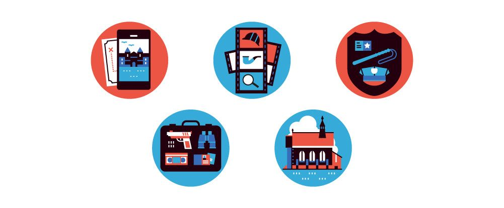Various icons and vector work for a number of publications ...