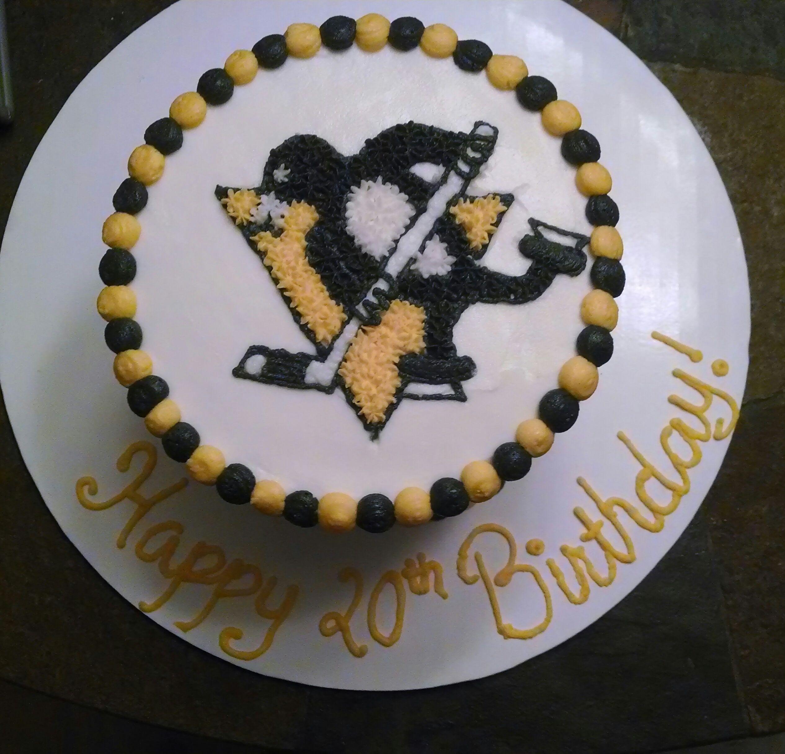 Little Ice Hockey Cake, Pittsburgh Penguins | Sweets | Pinterest | Hockey  Cakes, Cake And Fondant Cakes