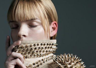 The Room Magazine Shot by: Marton Perlaki Fashion Editor: Ali Toth and Aniko Virag Model: Meghan Collison