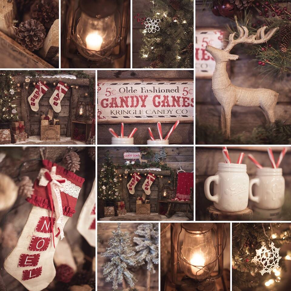 Cosy Christmas collage.   Photo by Janellabelle Photo.