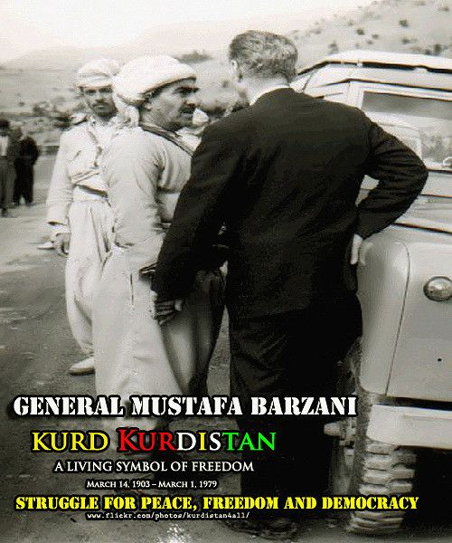 Pin By Yasa Hasanpour On History Of Kurdestan: MUSTAFA BARZANI مستهفا بارزانی سهركردهی بزاڤی