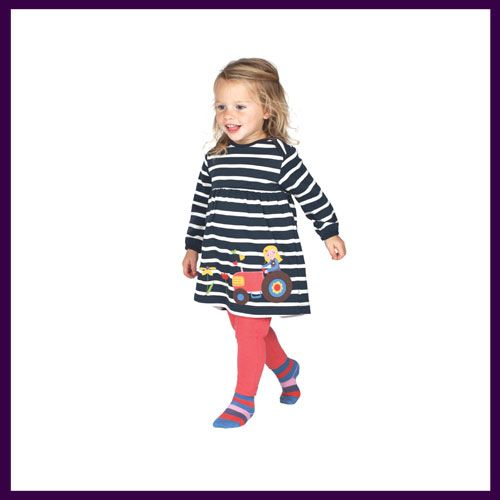805b2dfd2d Frugi Freya Tractor Dress. Made from organic cotton and available with free  UK delivery at