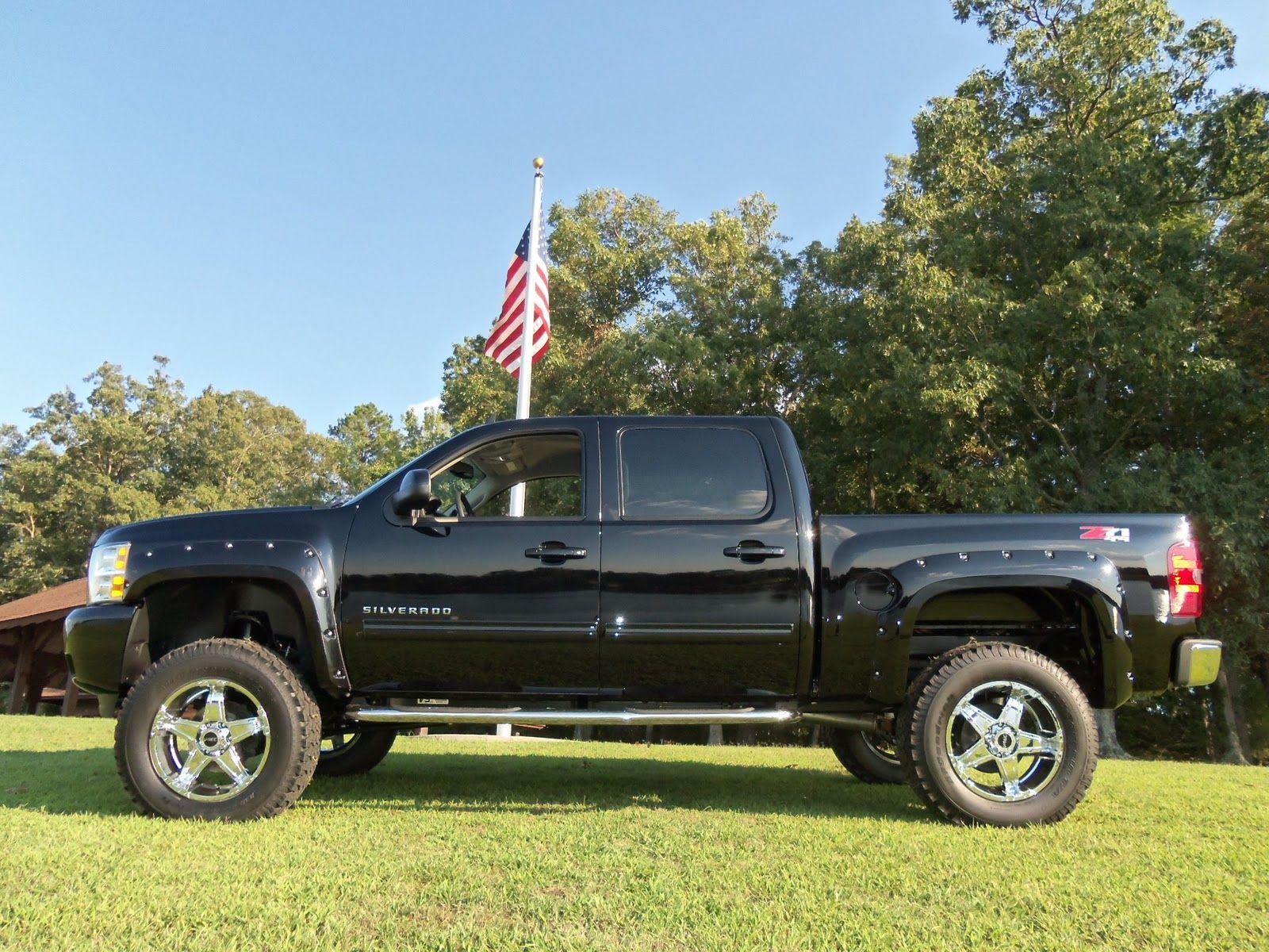 2012 lifted black chevrolet silverado truck youtube video