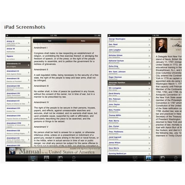 History Teaching Institute: IPad Use In High School Government Classes: Four Great