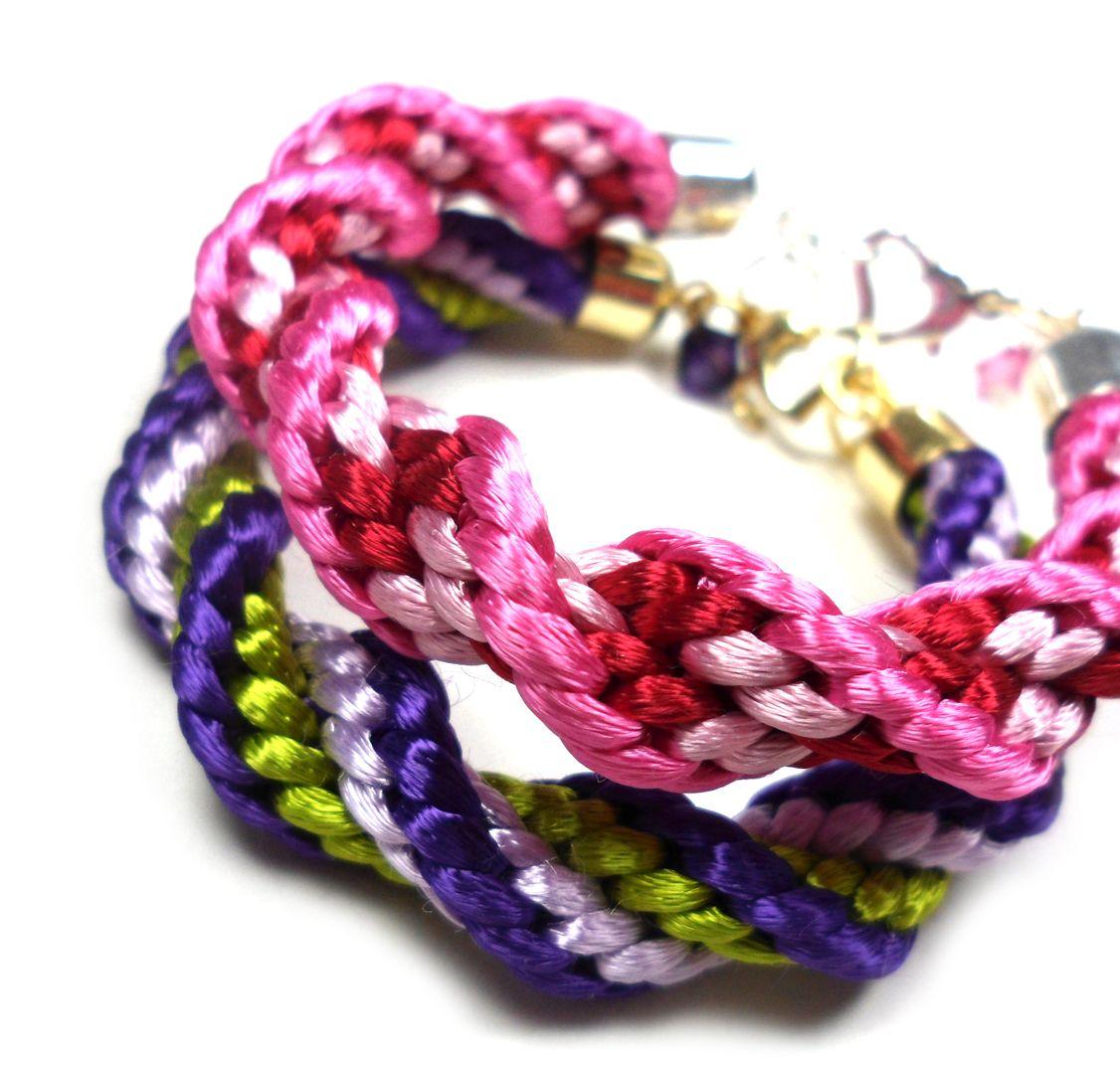 More kumihimo jewelry tutorials craft pinterest spiral