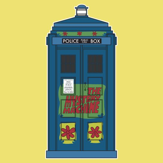 """""""The Pesky Kids have the phonebox..."""" T-Shirts & Hoodies by @Seven_Hundred   Redbubble"""