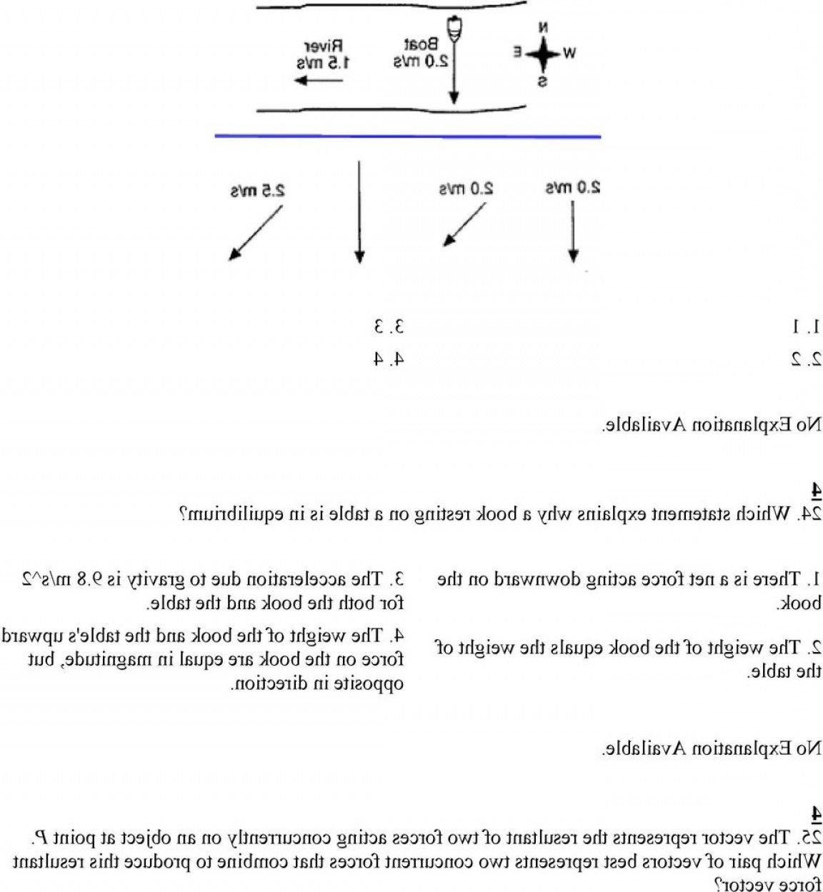 Physics Vector Addition Worksheet